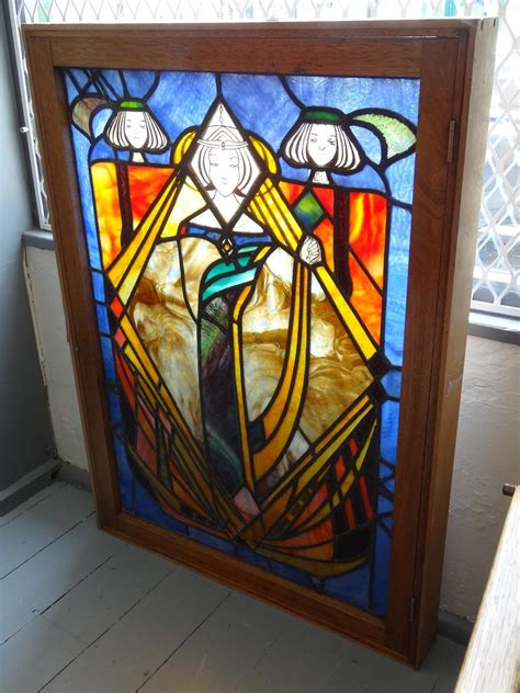 Style Stained Glass Ls by Glasgow Style Mackintosh Stained Glass Window In Stained Glass