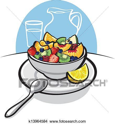 frutta clipart clipart insalata frutta fresca k13964584 cerca clipart