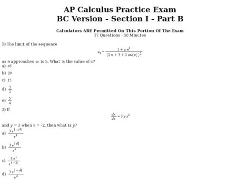 printables calculus worksheet mywcct thousands of