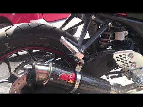 Knalpot Racing Yamaha R25 Akrapovic Megaphon Fullsystem yamaha yzf r25 exhaust akrapovic db killer revs doovi