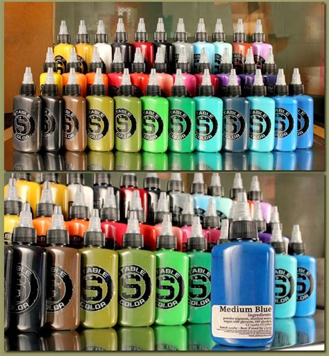 tattoo ink suppliers tattoo ink stable 34 color ink set stable color tattoo