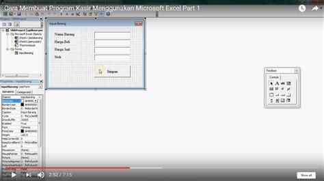 cara membuat cilok jember cara membuat program kasir menggunakan microsoft excel