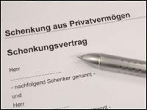 Schenkungsvertrag Auto by Erbschaftssteuer Schenkung Archive Haushaltsgeld Net