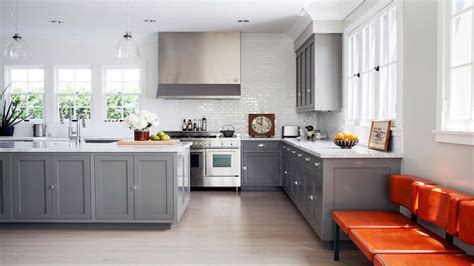 shaker kitchen ideas gray shaker cabinets kitchen designs ideas