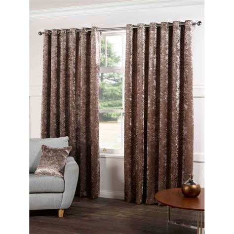 plush velvet curtains plush crushed velvet chagne curtains tj hughes