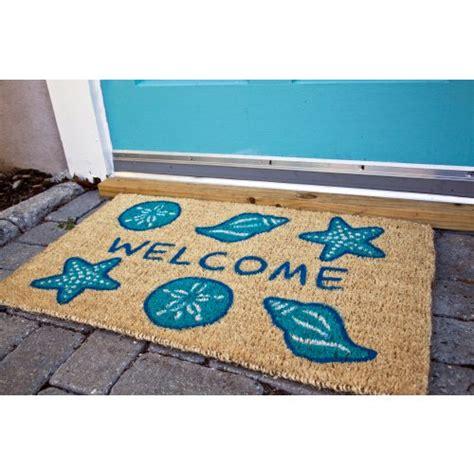 Fiber Doormat by Shells Welcome Coconut Fiber Doormat