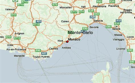 map of monte carlo monte carlo location guide