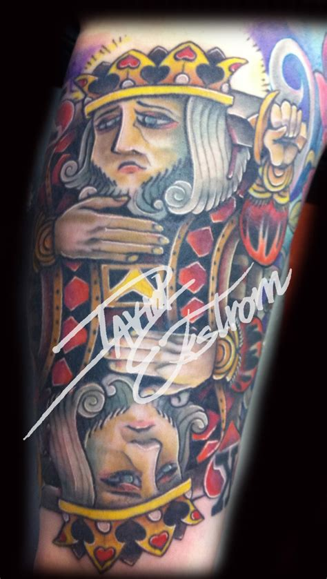 king of hearts tattoo tattoos by david ekstrom and everything else 11