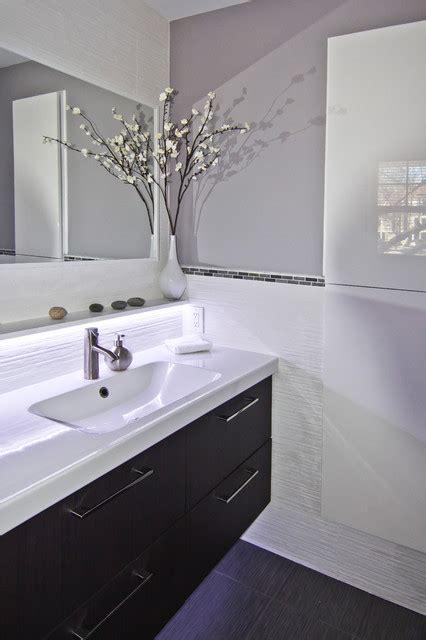 ct residence modern powder room new york by susan monochromatic powder room modern powder room new