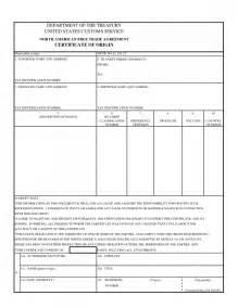certificate of origin templates certificate of origin form selimtd