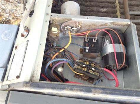 trane ac capacitor wiring question about replacing capacitor on trane xl 1200 condensor doityourself community forums