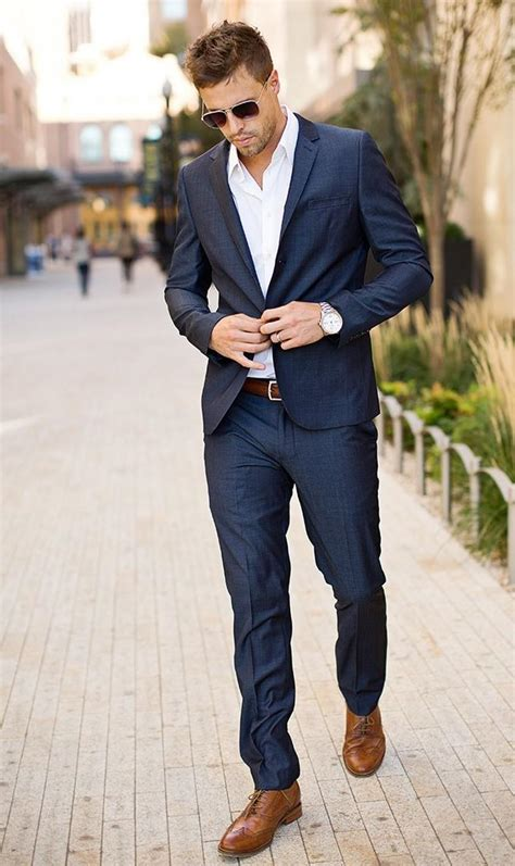 How To Groom For A Wedding Party Men Style Guide | mens formal wear for holiday party navy blue tuxedos for