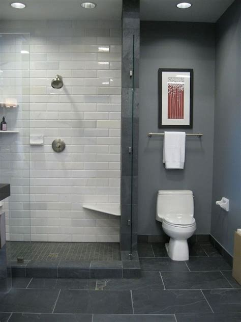 bathroom tile and paint ideas grey paint white metro tiles grey floor tiles interior
