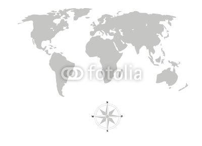 Digitaldruck Preise Berechnen by Weltkarte Als Digitaldruck 200 0 X 144 5 Cm Aus