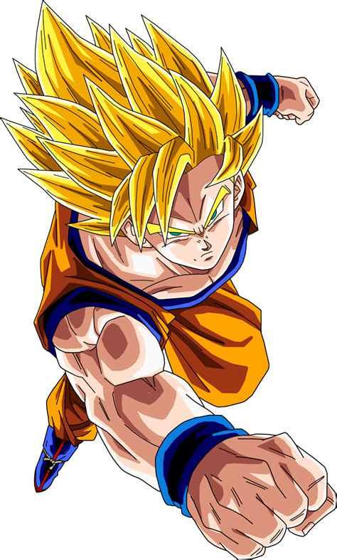 Saiyan Goku saiyan 2 goku www pixshark images galleries