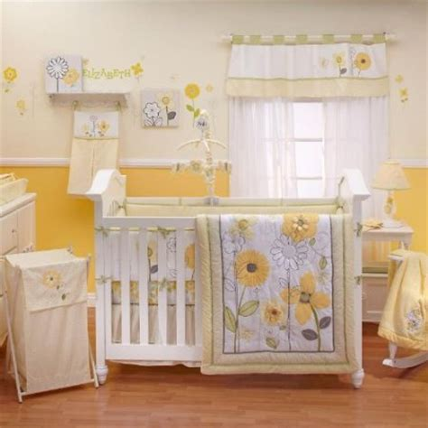 yellow nursery bedding nojo bright blossoms crib bedding baby bedding and