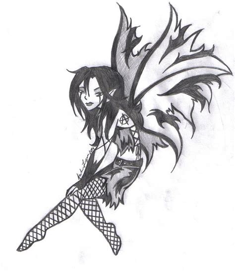 gothic fairy by yugisbitch666 on deviantart