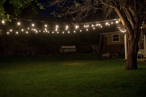 backyard bulb lights domestic fashionista industrial vintage backyard lighting
