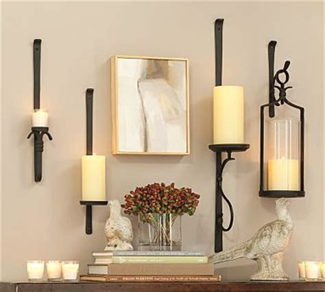 artisanal wall mount candleholder candle holders