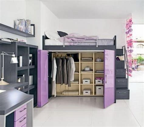 wardrobe under bed beautiful loft beds for adults with desk walk 17 best images about loft bed inspiration on pinterest