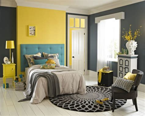 yellow and grey room colour scheme ideas for bedrooms paint colors for