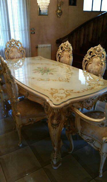tavoli stile barocco tavolo in stile barocco veneziano g00018 il bello dell usato