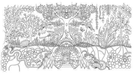 mein frhlingsspaziergang ausmalen und 340460928x mein zauberwald amazon de basford b 252 cher tree and leaves coloring