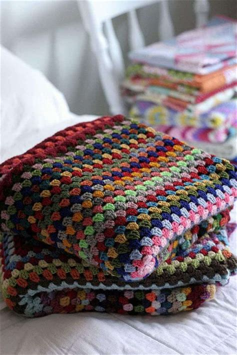 Crochet Square Blankets by 38 Gorgeous Crochet Blanket Patterns Ideas Diy To Make