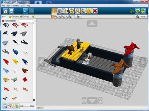 Lego Digital Designer Models lego digital designer and study models revit news
