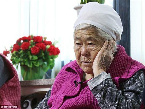 comfort women compensation south korean comfort women blast japan apology over ww2