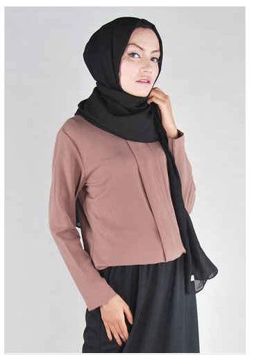 Baju Muslim Formal 10 Contoh Model Busana Muslim Wanita Formal Elegan 2016