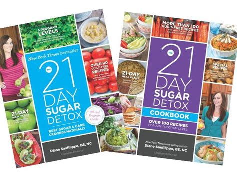 21 Day Sugar Detox Supplements by 21 Day Detox Diet Diane Sanfilippo Chicksnews