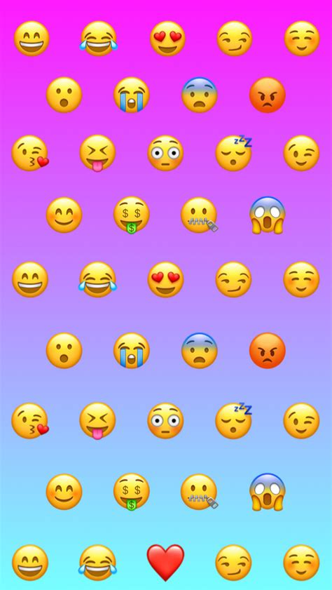 girly ombre wallpaper emoji girly ombr 233 gradient cute background wallpaper fun