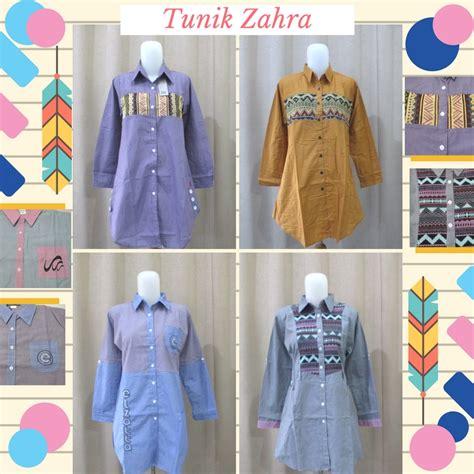 Puasat Grosir Baju Balqis Tunik Sofie supplier tunik zahra wanita dewasa termurah 47ribu