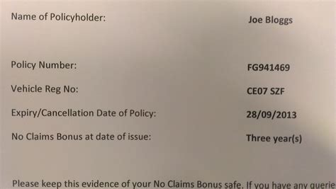 Letter To Insurance Company For No Claim Bonus No Claims Bonus Ncb Archives Premium Choice