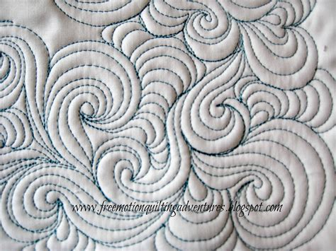 Mctavish Quilting by Free Motion Quilting Design Mctavishing With A Twist