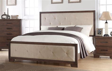 contemporary queen bedroom set denali contemporary 4 piece queen bedroom set in dark wood