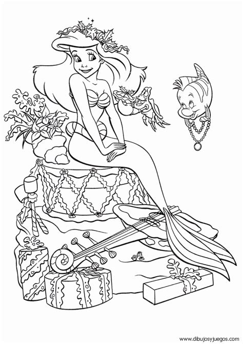 imagenes para dibujar la sirenita dibujos para colorear maestra de infantil y primaria