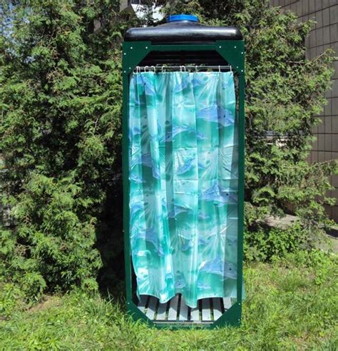 Outdoor Portable Shower by Portable Outdoor Shower Designs