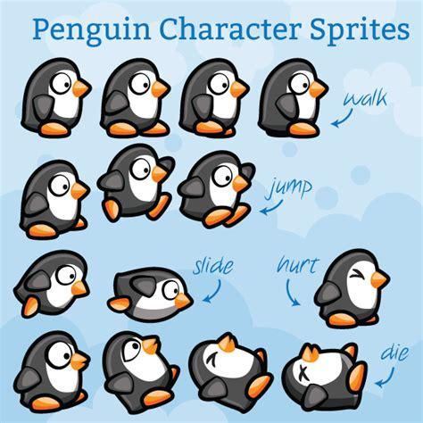 Home Design 2014 Download by Penguin Platformer Game Character Sprites