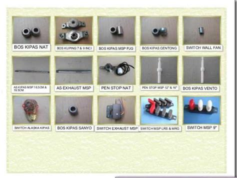 Spare Part Blender Panasonic spare part blender efata jaya