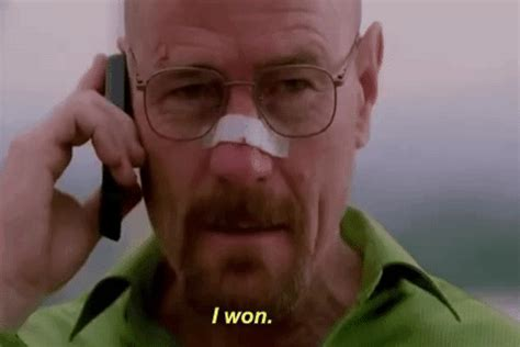 bryan cranston gif me bryan cranston winner gif by breaking bad find share