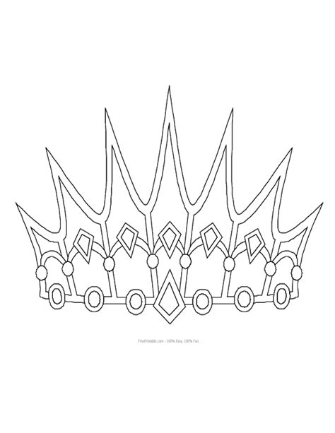 free printable princess crown template princess crown pattern pelautscom tattooskid