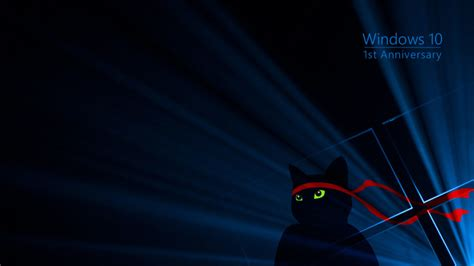 Windows 10 Wallpaper Ninja Cat | windows 10 ninja cat wallpaper devget net