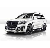 Tuning Mercedes GL  Black Crystal Body Kit For Benz
