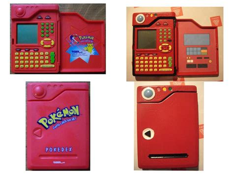 Pokedex Papercraft - pokedex before and after by gvghost on deviantart