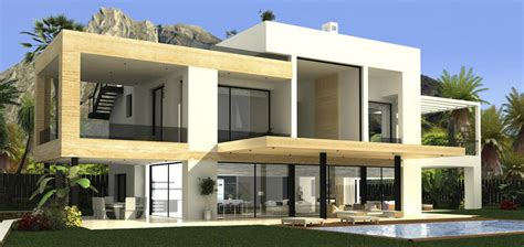 modern villas mv34132 contemporary villa in golden mile marbella spain