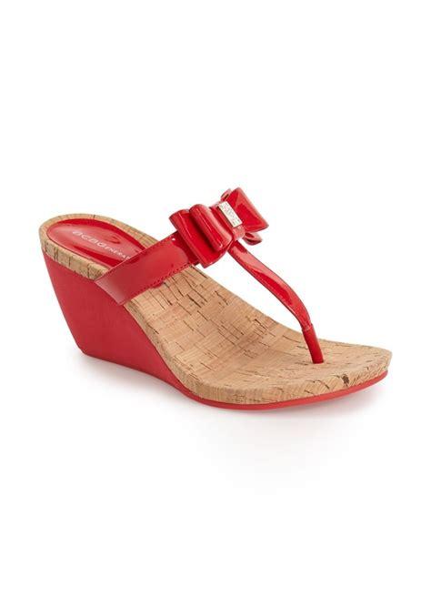 bcbg wedge sandals bcbg bcbgeneration wedge sandal shoes