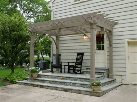 Flagstone Patio With Pergola by Landscaping With Pergolas Land Design