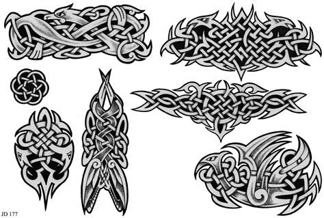 504 tattoo designs wonderful grey celtic designs